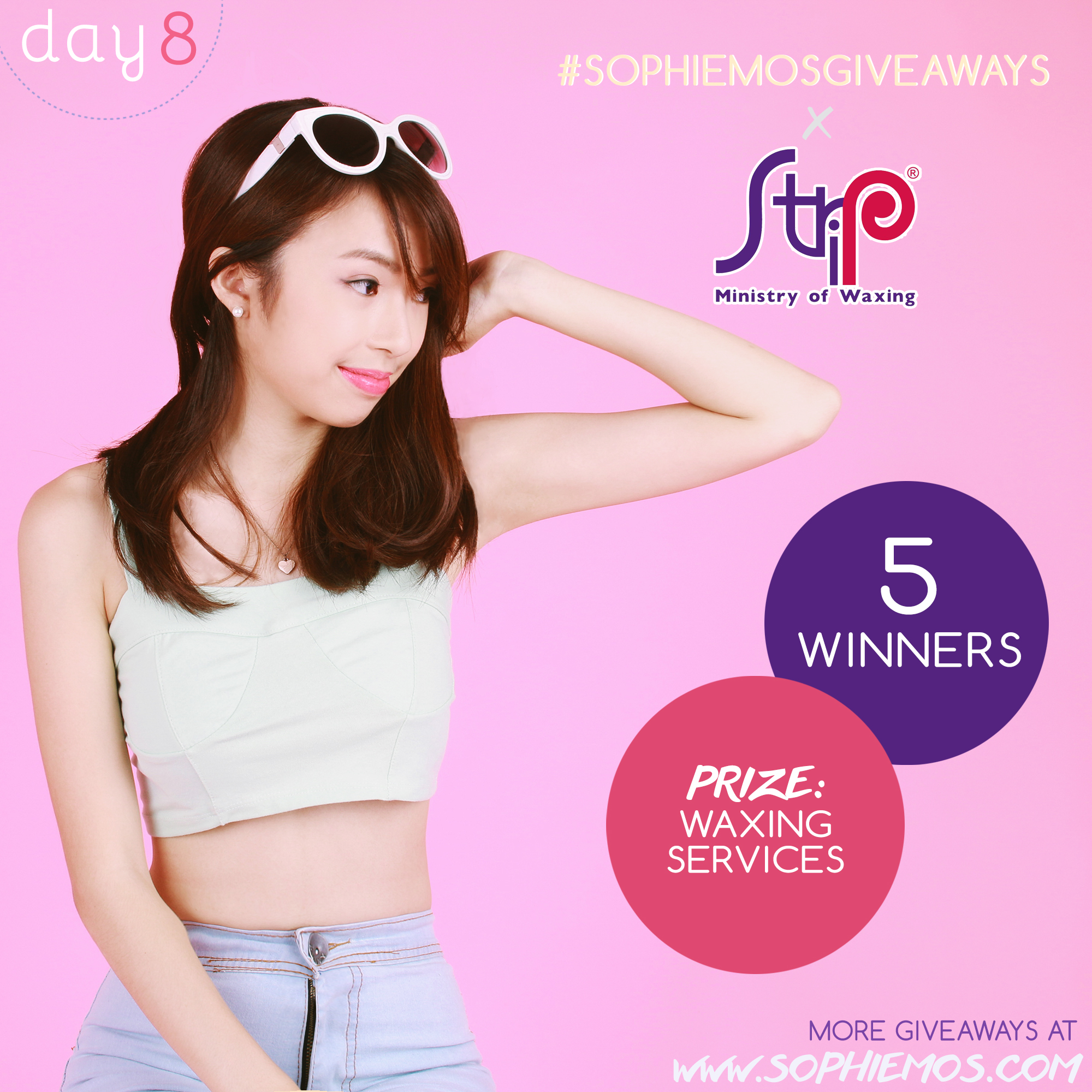 [CLOSED] DAY 8 OF #SOPHIEMOSGIVEAWAYS: STRIP MANILA