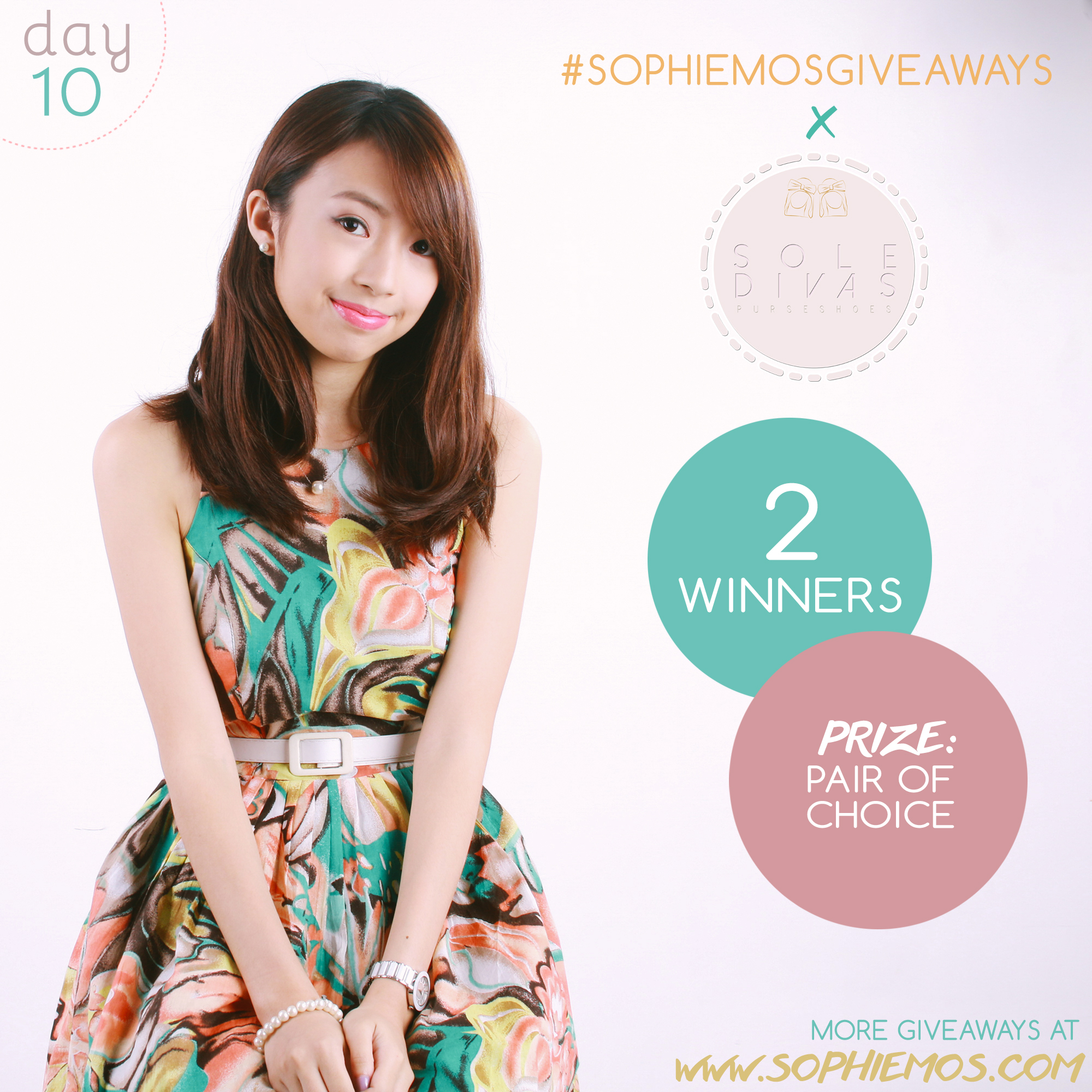 [CLOSED] DAY 10 OF #SOPHIEMOSGIVEAWAYS: SOLE DIVAS