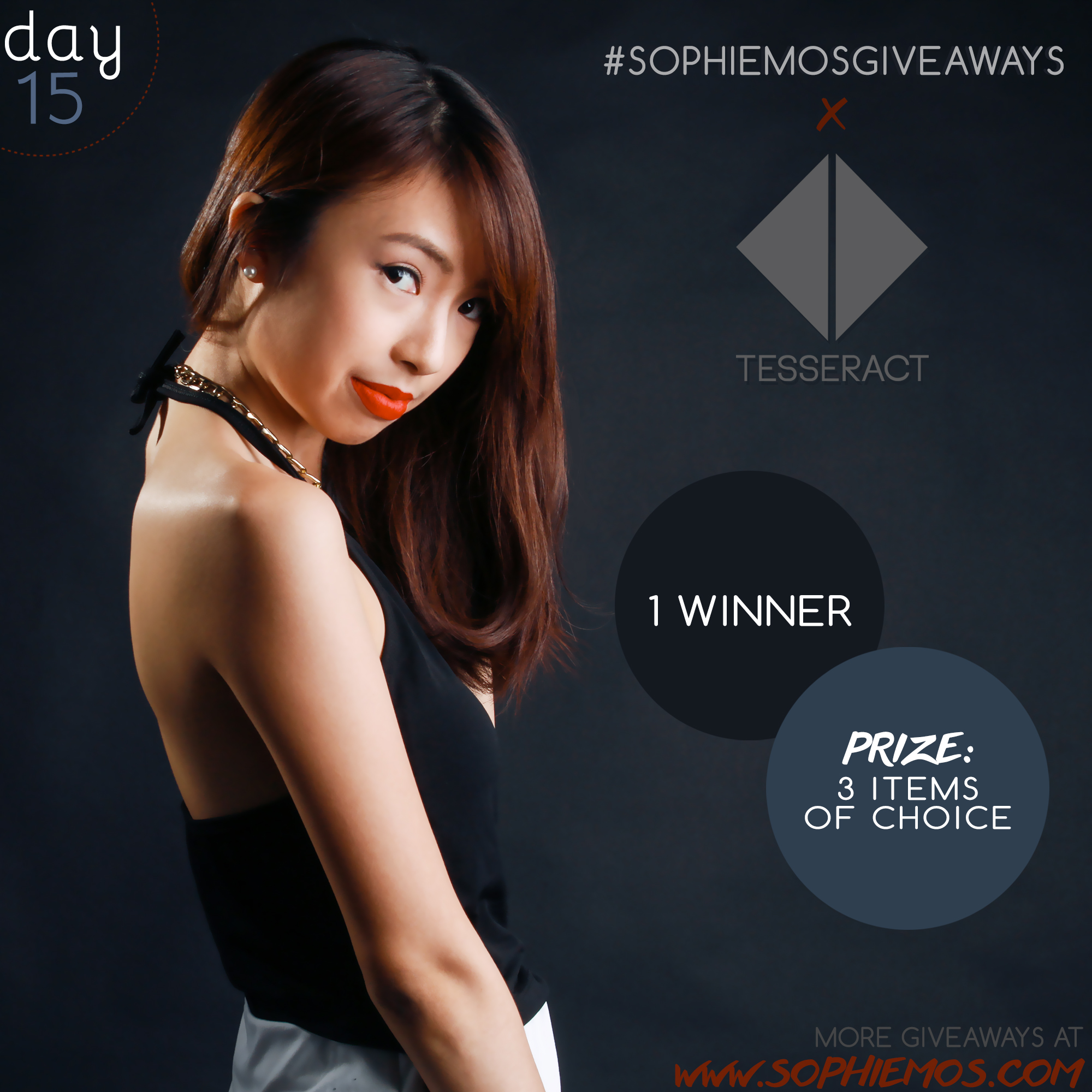 [CLOSED] DAY 15 OF #SOPHIEMOSGIVEAWAYS: TESSERACT MANILA