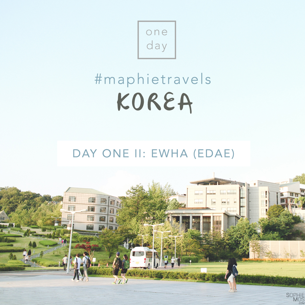 #MaphieTravels Korea: Day One – II