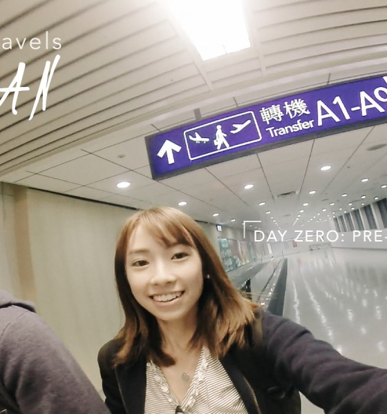 #MaphieTravels Taiwan Day 0: Pre-flight + Arrival