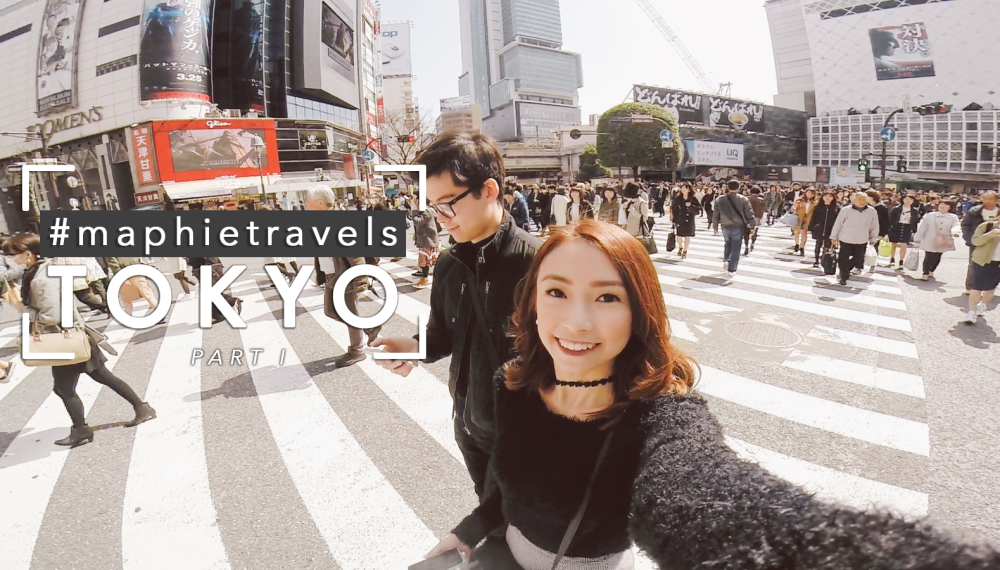 #MaphieTravels TOKYO 2016 [Part I]