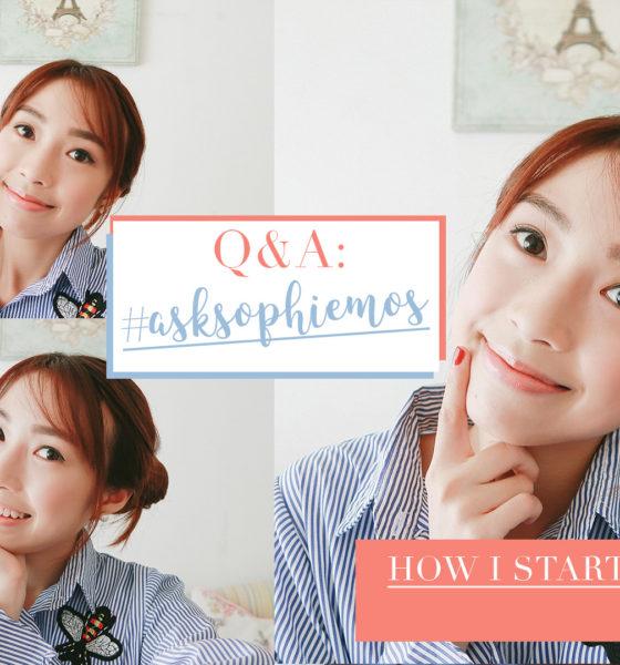 Q&A VLOG: #AskSophiemos